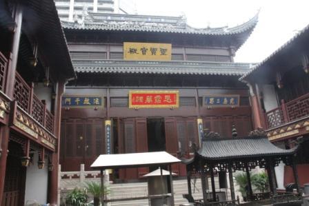 上海白雲観の神様 /日本道観の道教交流